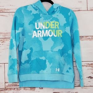 Under Armour Hoodie Girls UA Rival Wordmark L